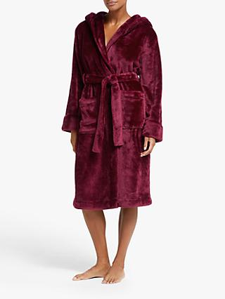 John Lewis & Partners Cece Shimmer Fleece Robe