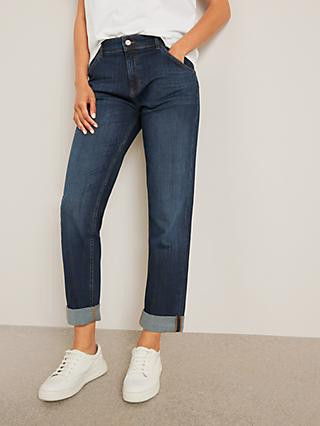AND/OR Venice Beach Boyfriend Jeans, Azurite Blue