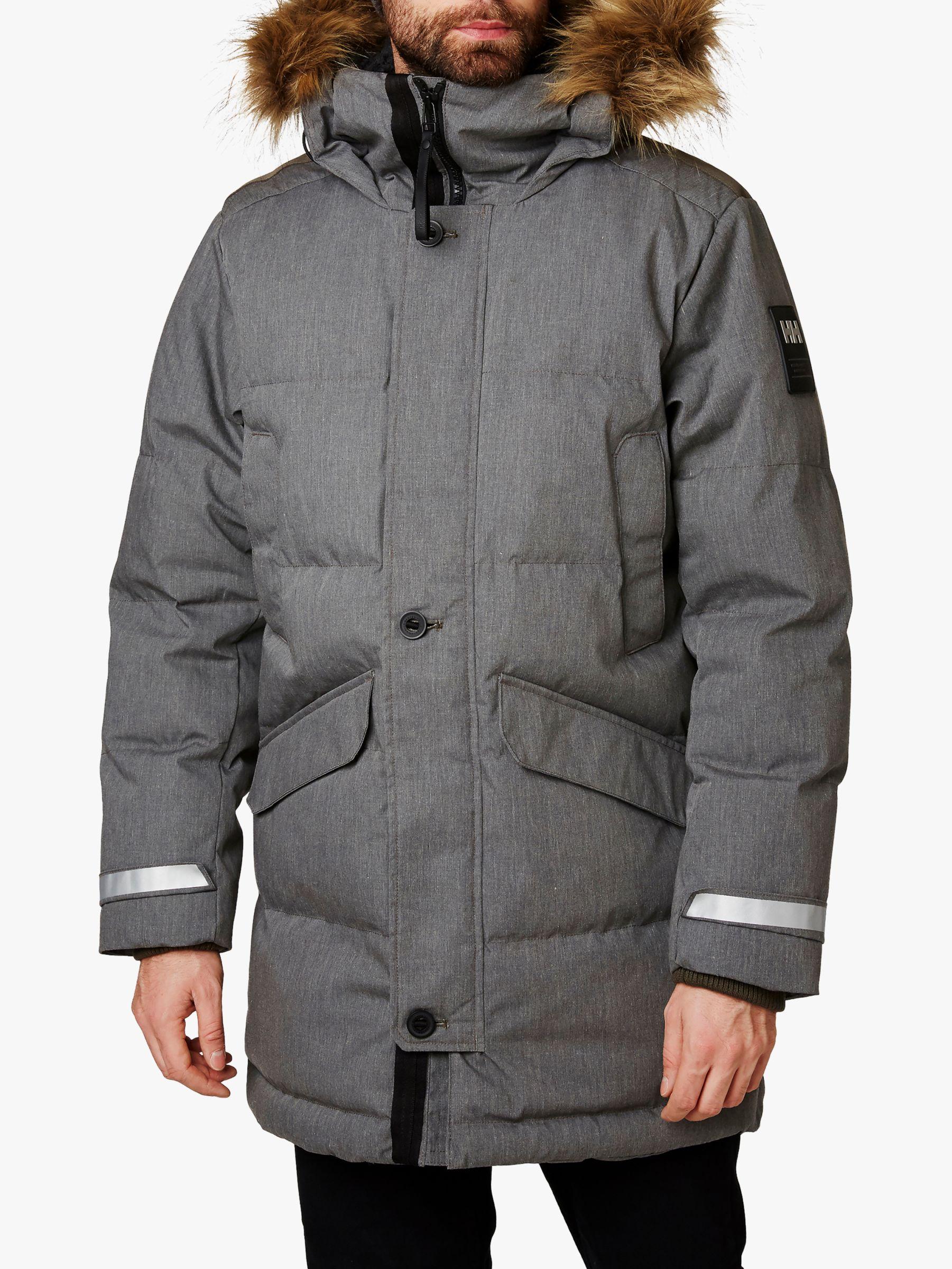 Helly Hansen Helly Hansen Barents Men's Waterproof Parka Jacket, Beluga