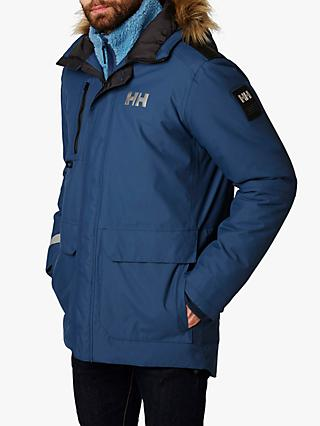 Helly Hansen Svalbard Men's Waterproof Parka Jacket, North Sea Blue