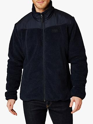 Helly Hansen Oslo Reversible Pile Full-Zip Fleece Jacket, Navy