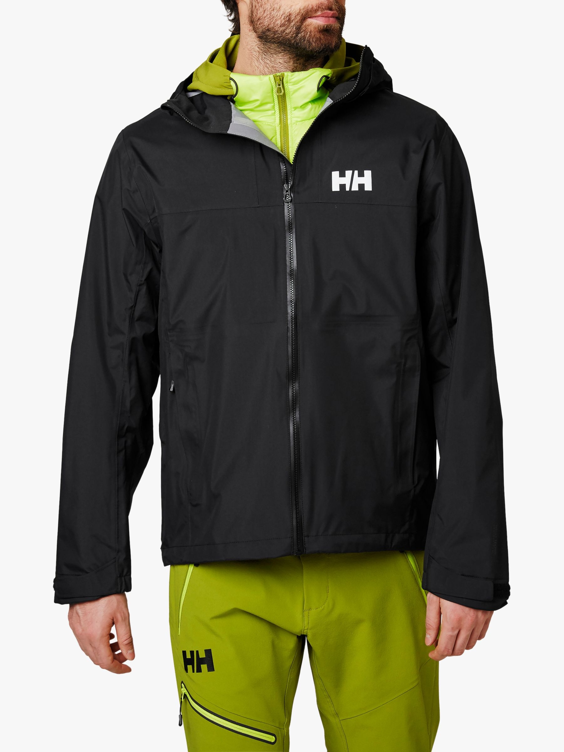 Helly Hansen Helly Hansen Vanir Slidr Waterproof Jacket, North Sea Blue