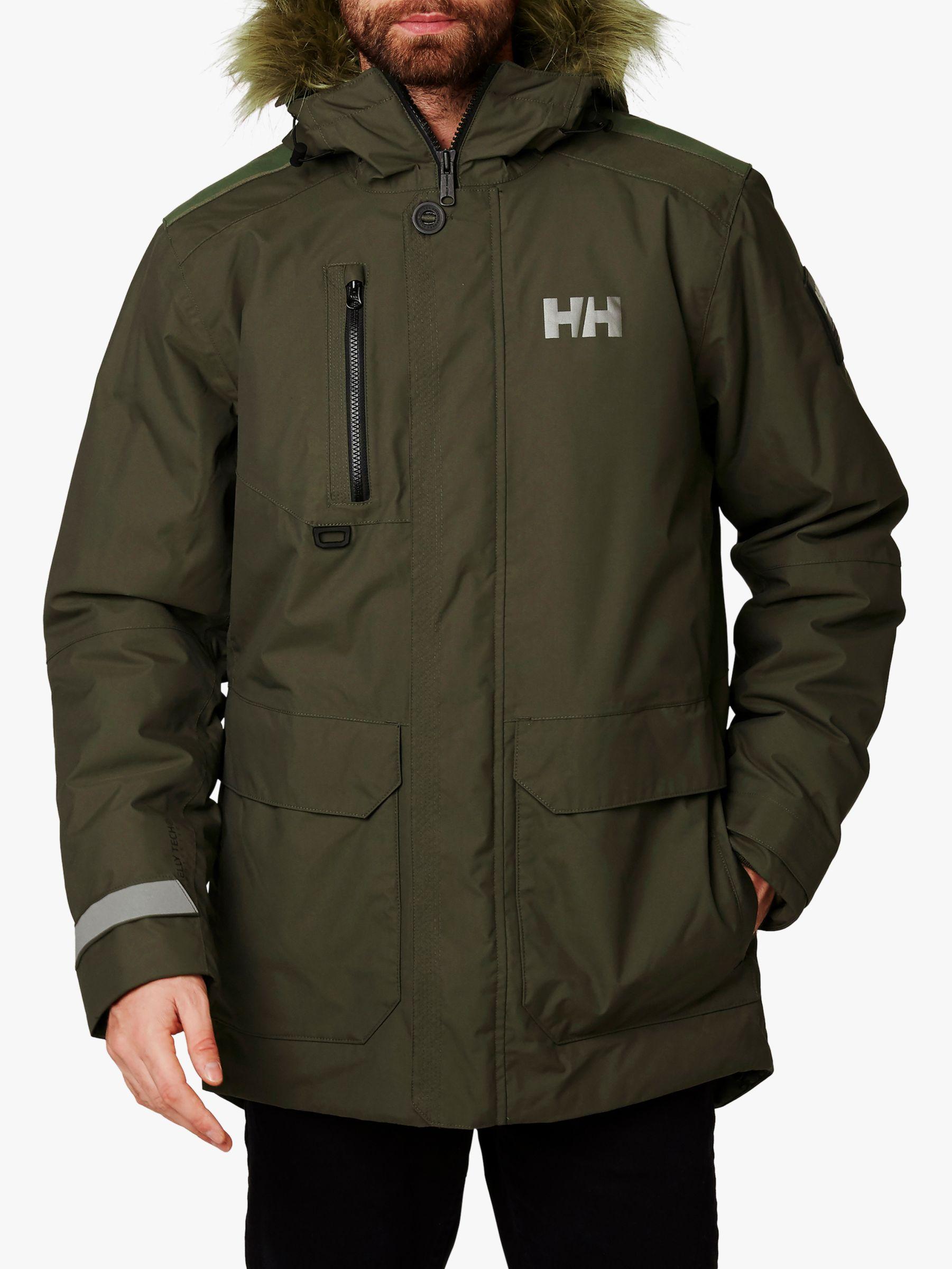 Helly Hansen Helly Hansen Svalbard Men's Waterproof Parka Jacket, Beluga