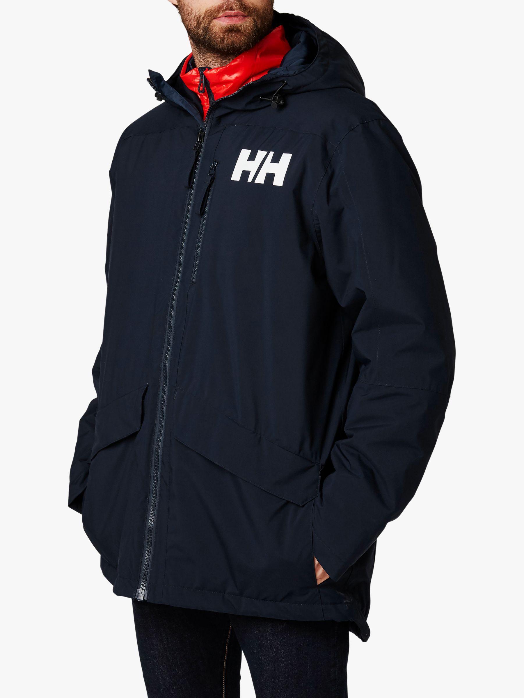 Helly Hansen Helly Hansen Active Fall 2.0 Men's Waterproof Parka Jacket, Navy
