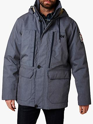 Helly Hansen 1877 Men's Waterproof Parka, Navy
