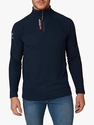 Helly Hansen Half Zip Sailing Top, Navy