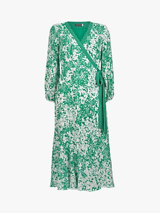 Mint Velvet Hetty Wrap Dress, Multi