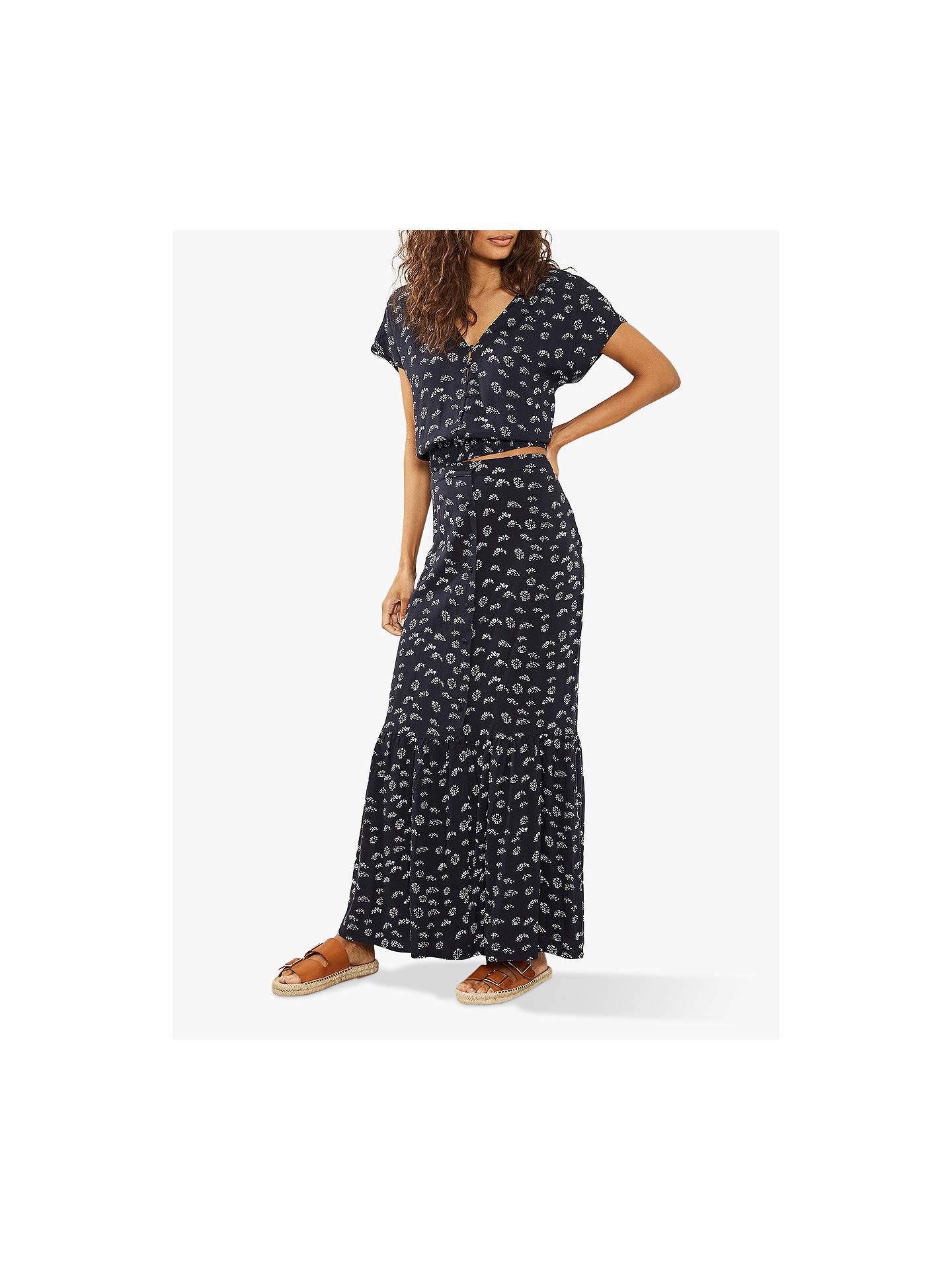 5c3e7dc0d3c3 Buy Mint Velvet Lara Print Boho Maxi Skirt