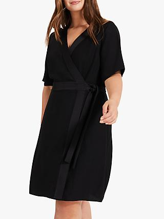 Studio 8 Monica Wrap Dress, Black