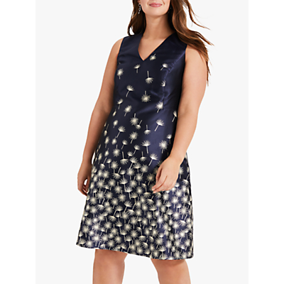 Studio 8 Laurie Jacquard Dress, Navy