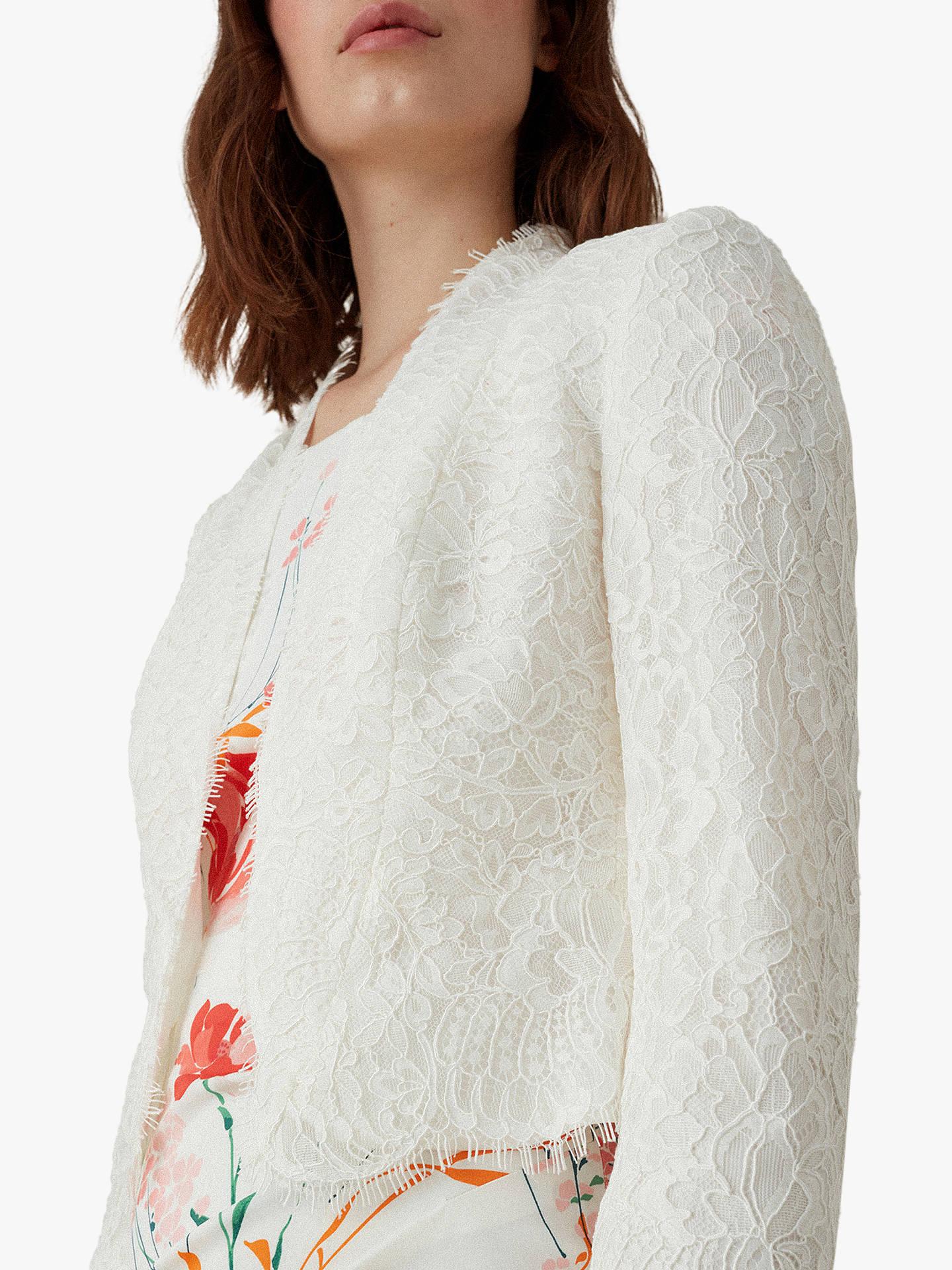 c74e014de2e Buy Karen Millen Lace Open Cardigan