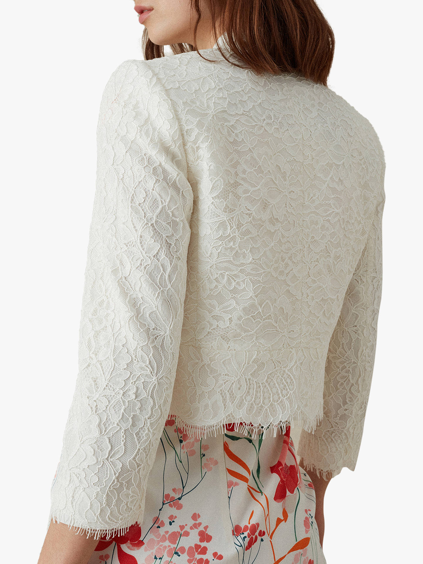629d688c352 ... Buy Karen Millen Lace Open Cardigan