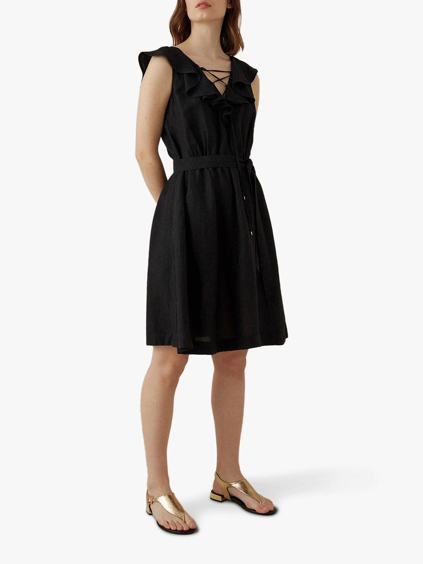 77d8e06d70 Karen Millen Floaty Dress, Black