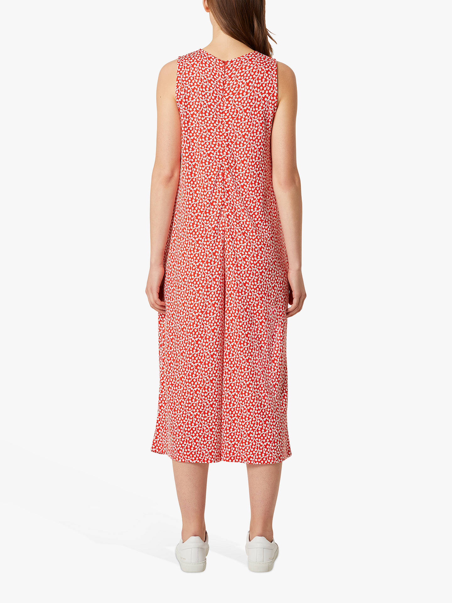 Buy French Connection Elao Sleeveless Jumpsuit, Shanghai Red, 8 Online at johnlewis.com
