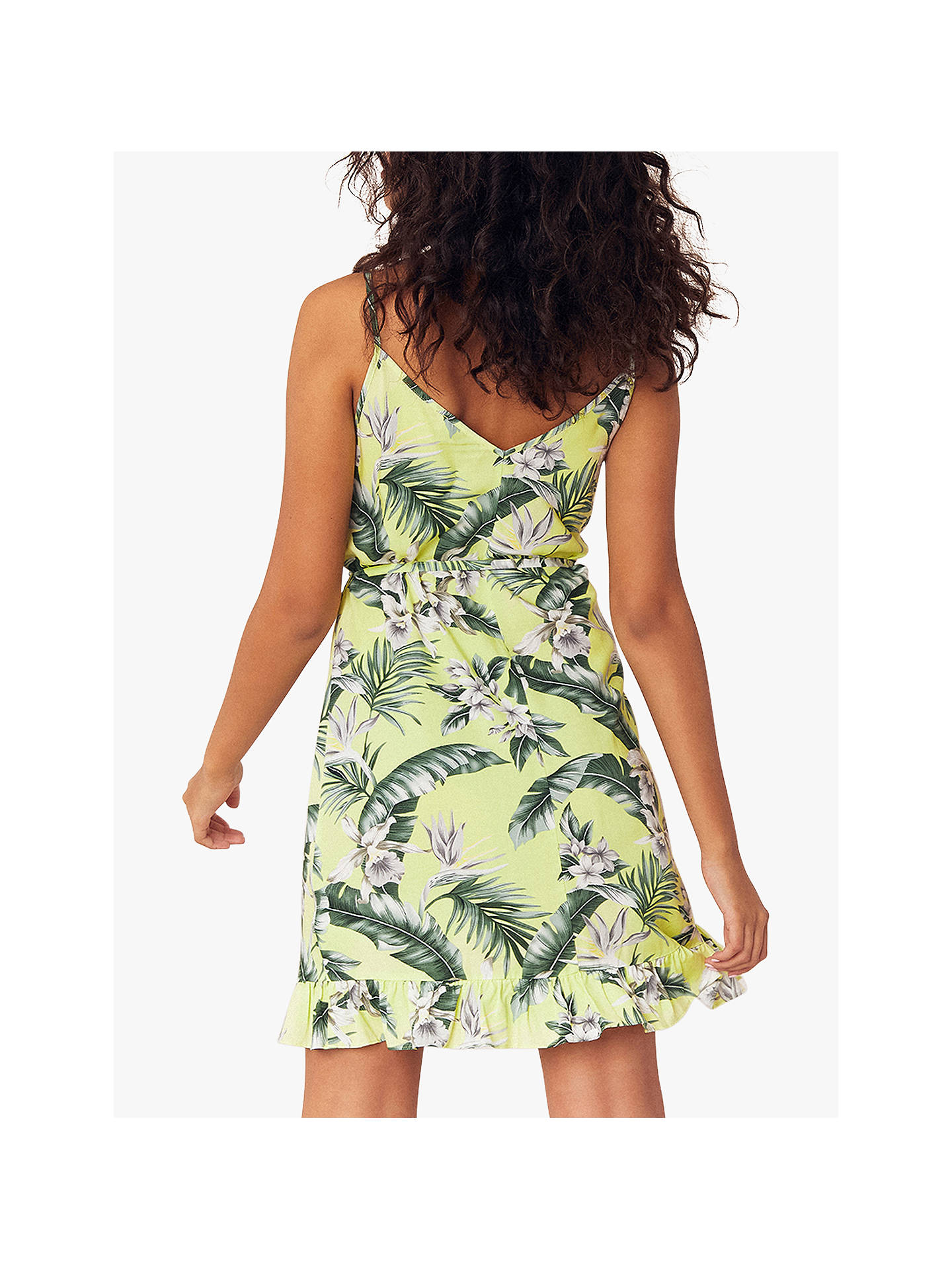 a36a551e ... Buy Oasis Palm Strap Sundress, Lime Green, 6R Online at johnlewis.com  ...