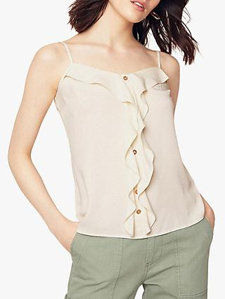 Oasis Button Frill Camisole Top