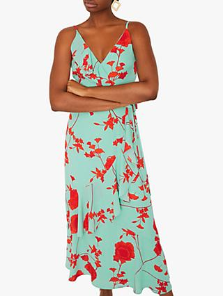 Warehouse Floral Dress, Multi
