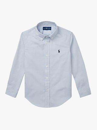 Polo Ralph Lauren Boys' Oxford Shirt, Blue