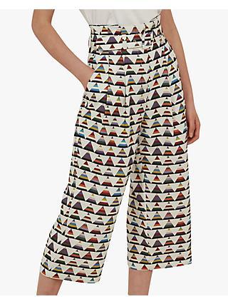 Ladies Wide Leg Culottes Shorts Womens Elasticated Stretch Print Plus Size 8-30 Women's Clothing