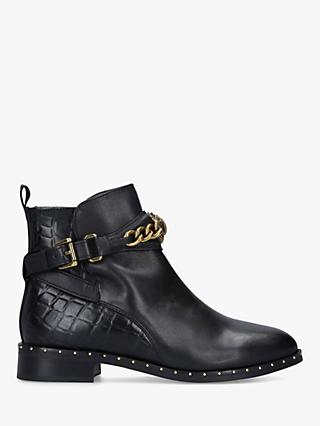 Kurt Geiger London Chelsea Jodhpur Leather Ankle Boots, Black