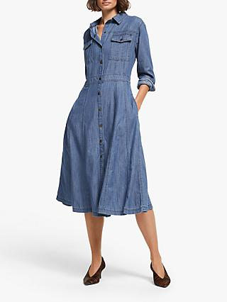 AND/OR Jess Shirt Dress, Denim