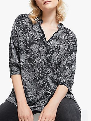 AND/OR Calito Floral Shirt, Charcoal