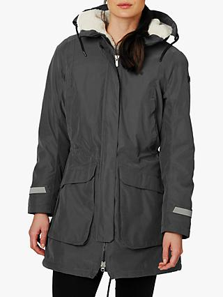 Helly Hansen Vega Women's Insulated Parka Jacket, Charcoal