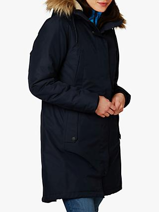 Helly Hansen Mayen Women's Waterproof Parka Jacket, Navy
