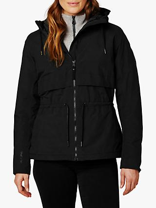 Helly Hansen Boyne Women's Waterproof Parka Jacket, Black