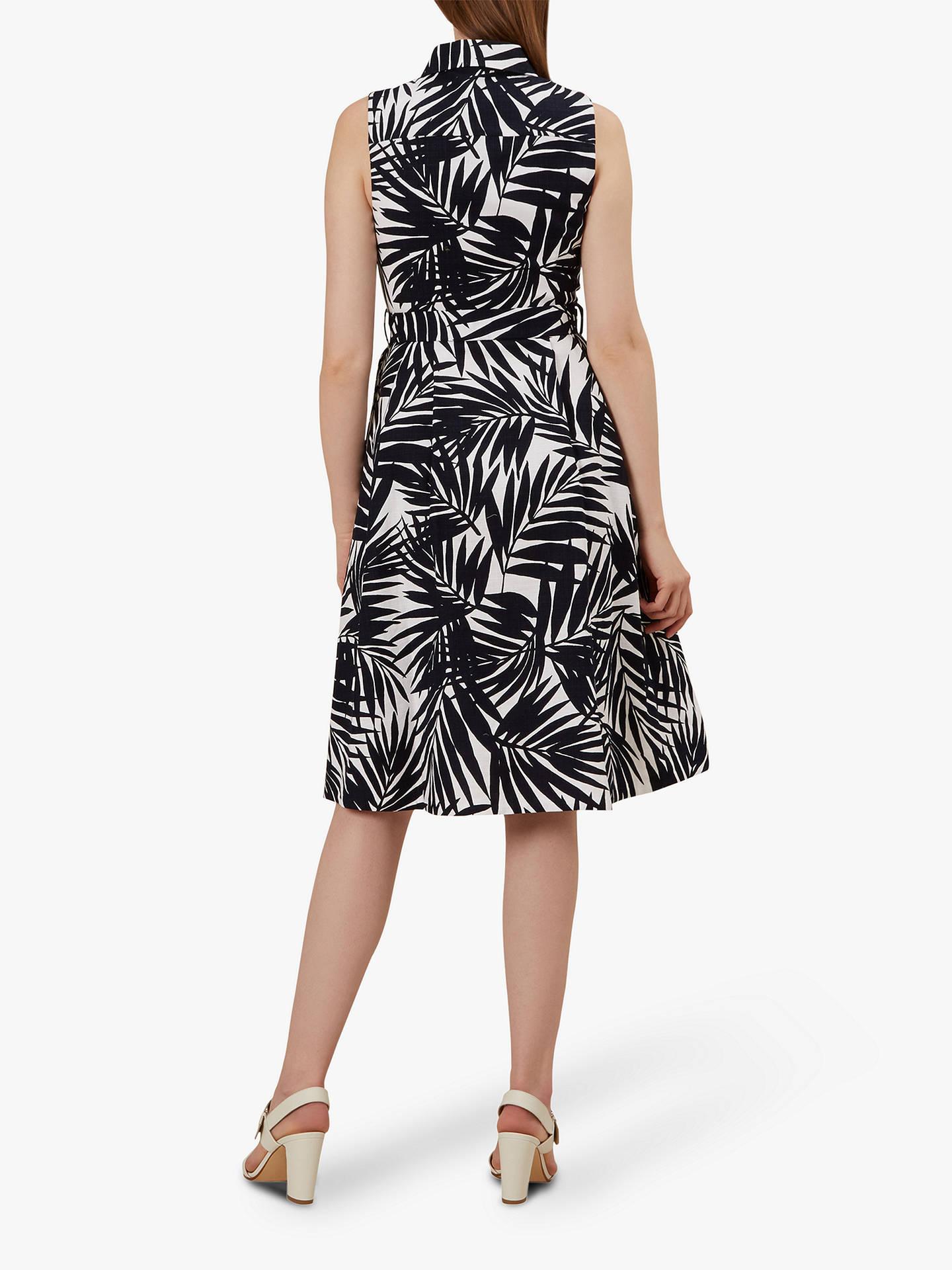 a1ee4ac422 ... Buy Hobbs Clarence Leaf Print Belt Detail Dress