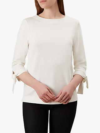 Hobbs Janelle Cotton Top, Ivory