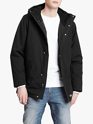 Levi's Thermore Padded Parka Coat, Caviar