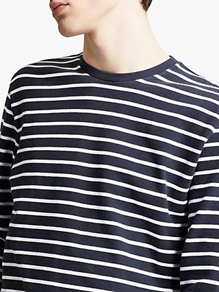 Levi's Mission Long Sleeve T-Shirt, Blue/White