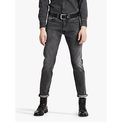 Product photo of Levi s 501 slim tapered jeans just grey
