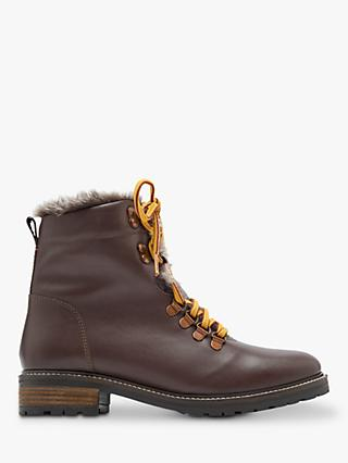 Joules Ashwood Leather Ranger Ankle Boots