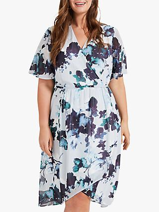 Studio 8 Zena Floral Dress, Blue Multi