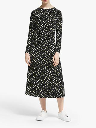 People Tree Henrietta Midi Dress, Black