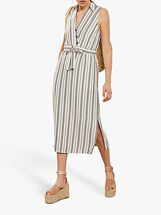 39e5099fcae Mint Velvet Striped Wrap Dress
