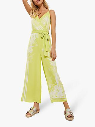Mint Velvet Rose Neon Jumpsuit, Multi