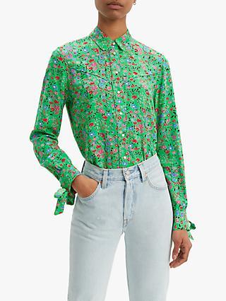 Green | Women's Shirts & Tops | John Lewis & Partners