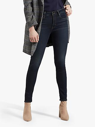 Levi's 721 High Rise Skinny Jeans, London Nights