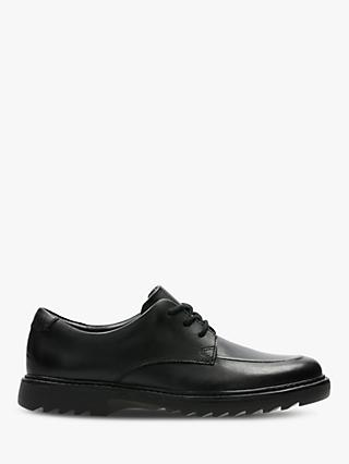 Clarks Children's Asher Grove Shoes, Black