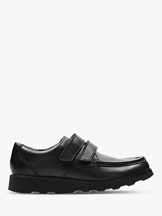 Clarks Children's Crown Leather Shoes