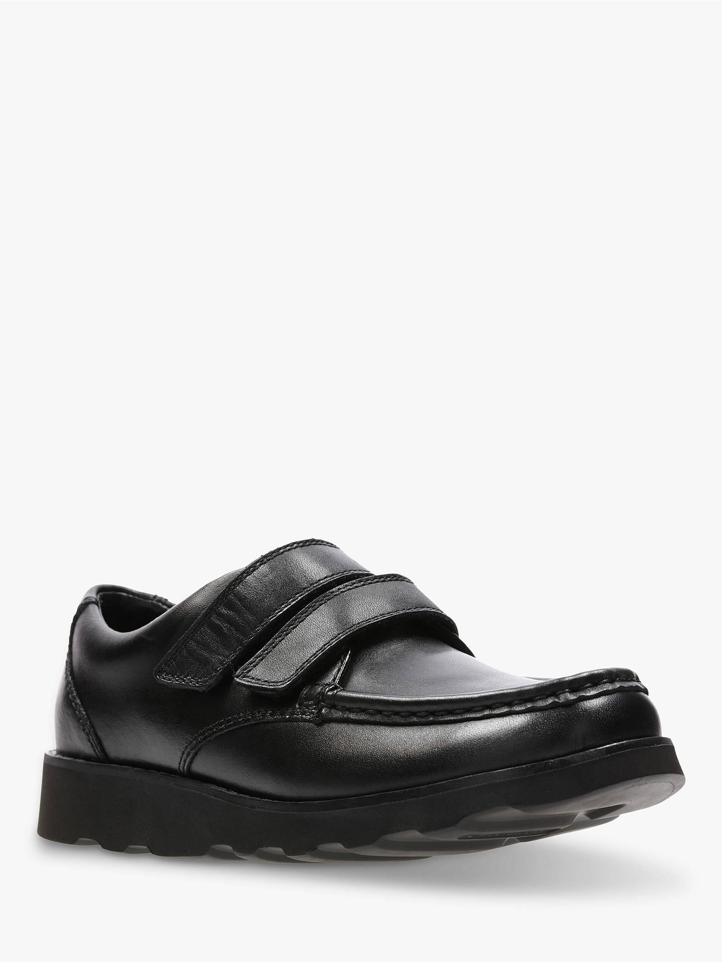 Clarks Girls Black Leather School Shoes infant size 10,10.5,11,11.5,12,12.5,13 F