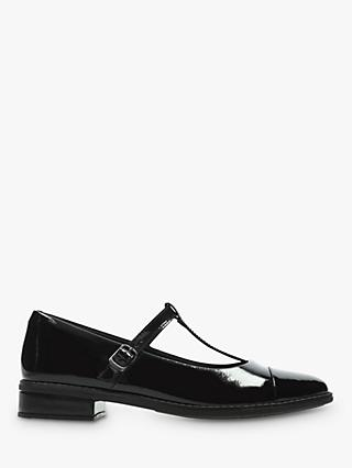 Clarks Children's Drew Shine Shoes, Black Patent leather