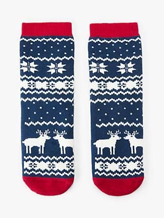 Boys Christmas Socks.Boy S Socks Multi Packs Trainer Knee High Socks John Lewis