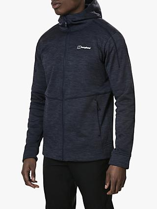 Berghaus Kamloops Men's Hooded Fleece, Deep Well/Dusk