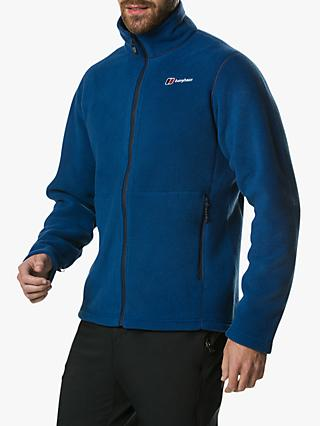 Berghaus Prism Full-Zip Men's Fleece, Deep Water