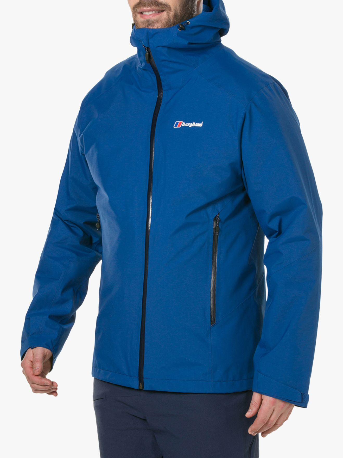 Berghaus Berghaus Ridgemaster 3-in-1 Men's Waterproof Gore-Tex Jacket, Deep Water
