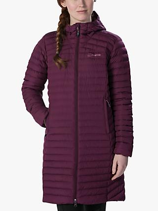 Berghaus Nula Micro Women's Long Insulated Jacket, Winter Bloom